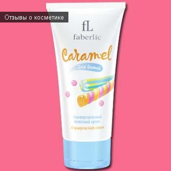 Универсальный детский крем Faberlic Caramel